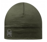 Шапка MERINO WOOL THERMAL HAT BUFF® SOLID CEDAR
