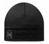 Шапка MERINO WOOL THERMAL HAT BUFF®SOLID BLACK