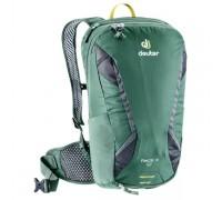 Рюкзак велосипедный Deuter, Race X цвет 2428 seagreen-graphite