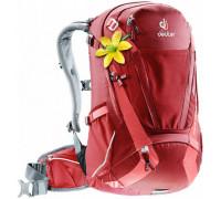 Рюкзак велосипедный Deuter, Trans Alpine 28 SL цвет 5553 cranberry-coral