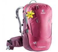 Рюкзак велосипедный Deuter, Trans Alpine 28 SL цвет 5563 ruby-blackberry