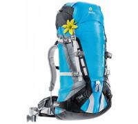 Рюкзак Deuter, Guide 40+ SL цвет 3315 turquoise-blueberry
