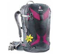 Рюкзак Deuter, Freerider 24 SL цвет 4507 graphite-magenta