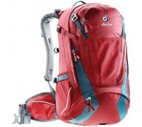 Рюкзак велосипедный Deuter, Trans Alpine 30 цвет 5321 cranberry-arctic