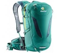 Рюкзак велосипедный Deuter, Compact EXP 12 цвет 2319 alpinegreen-midnight