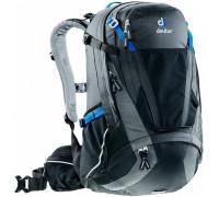 Рюкзак велосипедный Deuter, Trans Alpine 30 цвет 7403 black-graphite