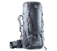 Рюкзак Deuter, Aircontact 55 + 10 цвет 4701 graphite-black