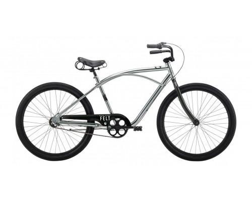 Велосипед Felt Cruiser Maxswell, brushbrite, 18 см