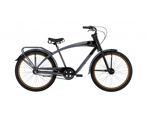 Велосипед Felt Cruiser Nebula, charcoal/black, 18 см