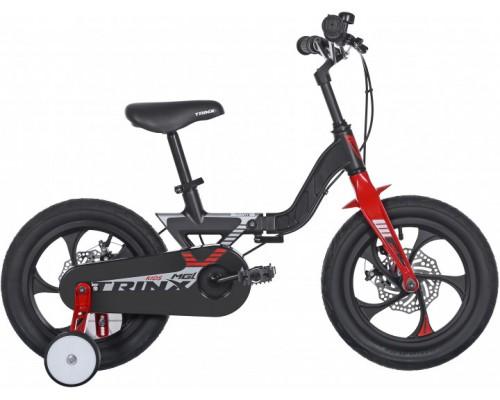 "Велосипед детский 14"", Trinx MG1, Matt-Black-Silver-Red"