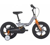 """Велосипед детский 14"""", Trinx MG1, Matt-Grey-Grey-Orange"""