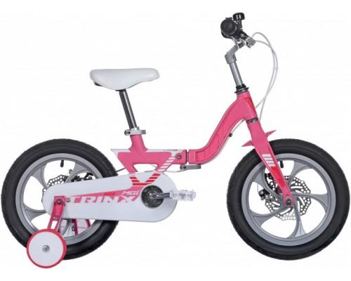 "Велосипед детский 14"", Trinx MG1, Pink-Red-White"