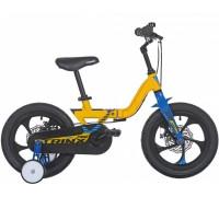 "Велосипед детский 14"", Trinx MG1, Yellow-Blue-Black"