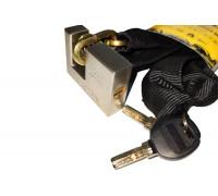 Купить Противоугонная цепь Gartex Z-1 Ligth, 5х1000 мм с замком (комфортный 003) в Украине