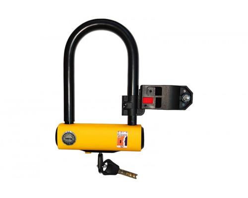 Замок Gartex U-lock для велосипеда с креплением