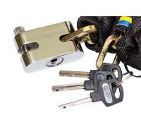 Противоугонная цепь Gartex Z-1 Ligth, 5х800 мм (0,70 кг)