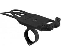 Держатель гаджетов GUB P8 силиконовый с алюминиевой основой на руль черный