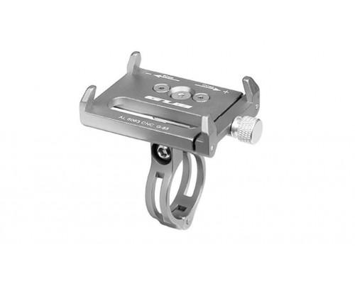 Держатель гаджетов GUB G-85 алюминиевый на руль серебристый