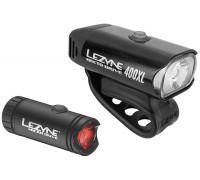 Комплект света Lezyne MICRO DRIVE 400XL / MICRO DRIVE REAR Чорный 450/30 люмен