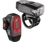 Комплект света Lezyne KTV DRIVE / KTV PRO SMART PAIR Чорный 200/75 люмен.