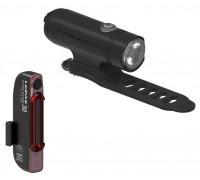 Комплект света Lezyne CLASSIC DRIVE 500 / STICK PAIR Чорный матовий/Чорный 500/30 люмен.