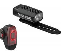 Комплект света Lezyne HECTO DRIVE 500XL / KTV PAIR Чорный/Чорный 500/10 люмен.