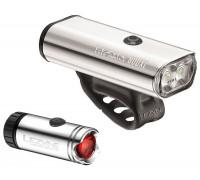 Комплект света Lezyne MACRO 800XL/MICRO PAIR Серебристый 800/30 люмен Y10