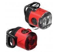 Комплект света Lezyne FEMTO USB DRIVE PAIR Красный 15/5 люменів