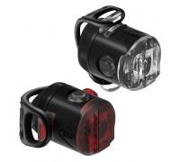 Комплект света Lezyne FEMTO USB DRIVE PAIR Чорный 15/5 люменів