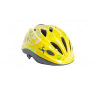 Шлем велосипедный Lynx Kids Matt Yellow