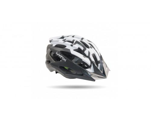 Шлем велосипедный Lynx Morzine Matt White Black