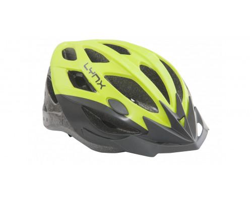Шлем велосипедный Lynx Morzine Matt Yellow