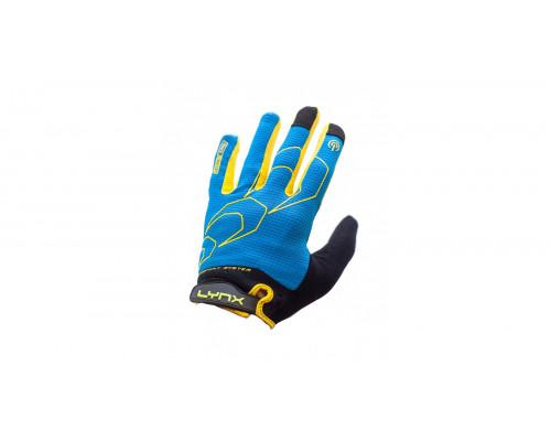 Велоперчатки Lynx All-Mountain, Blue/Yellow