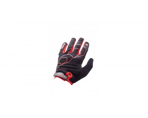 Велоперчатки Lynx All-Mountain, Black/red