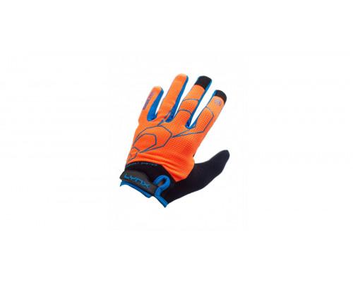 Велоперчатки Lynx All-Mountain, OBL Orange/Blue