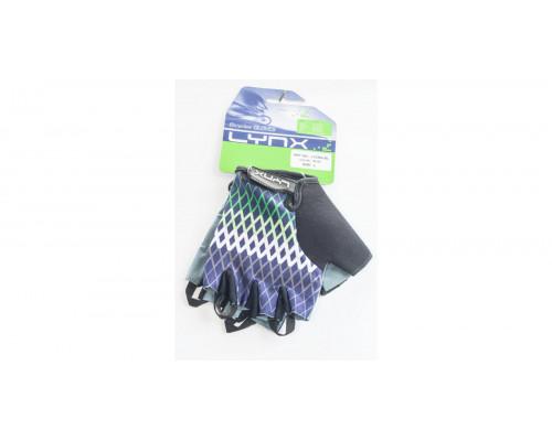 Велоперчатки Lycra Blue