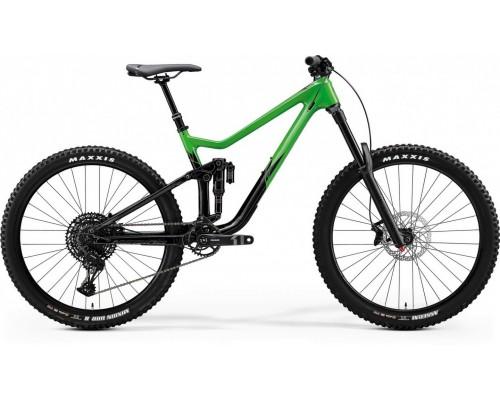 "Велосипед двухподвесной 27,5"" Merida, ONE-SIXTY 3000, FLASHY GREEN/GLOSSY BLACK, 2020"