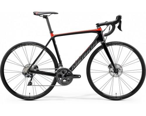 Велосипед шоссейный Merida, SCULTURA DISC LIMITED, GLOSSY BLACK/RED, 2020