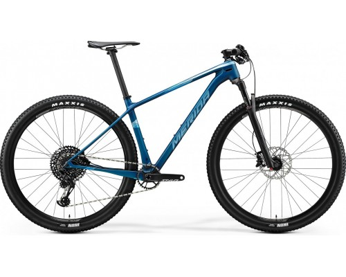 "Велосипед горный 29"" Merida, BIG NINE 6000, MATT OCEAN BLUE(GLOSY SIL BLU), 2020"