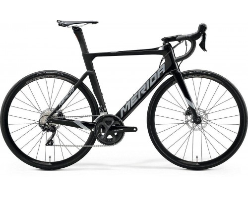Велосипед шоссейный Merida, REACTO DISC 4000, GLOSSY BLK/MATT BLK, 2020