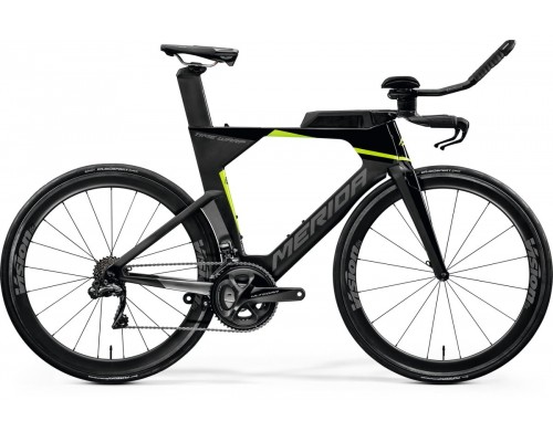Велосипед шоссейный Merida, TIME WARP TRI LIMITED, BLACK/UD/SILVER(GREEN), 2020