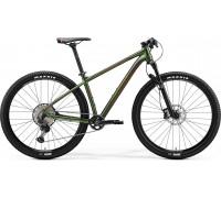 """Велосипед горный 29"""" MERIDA BIG.NINE XT EDITION, XL, SILK FOG GREEN (RED), 2020"""