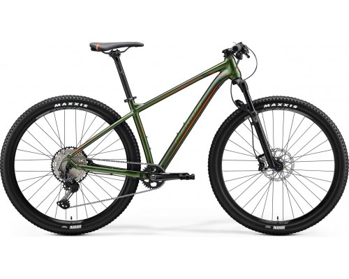 "Велосипед горный 29"" Merida, BIG.NINE XT EDITION, SILK FOG GREEN (RED), 2020"