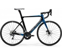 Велосипед шоссейный Merida, REACTO DISC 5000, GLOSSY OCEAN BLUE/BLACK, 2020