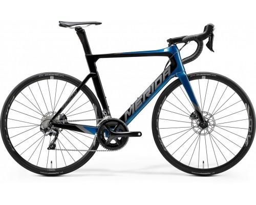 Велосипед шоссейный Merida, REACTO DISC 5000, GLOSSY OCEAN BLUE/BLACK, 2020