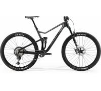 """Велосипед двухподвесной 29"""" Merida, ONE-TWENTY 7000, BLACK/DARK SILVER, 2021"""