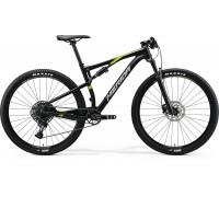 "Велосипед двухподвесной 29"" Merida, NINETY-SIX 9.3000, SILK METALLIC BLACK(GLO GRN), 2020"
