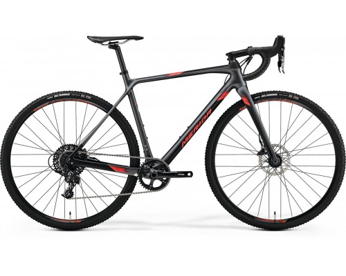 Велосипед циклокроссовый Merida, MISSION CX 5000, SILK SILVER(RED), 2020