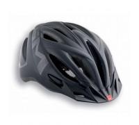 Шлем MET, 20 miles, matt texture black (reflective stickers)