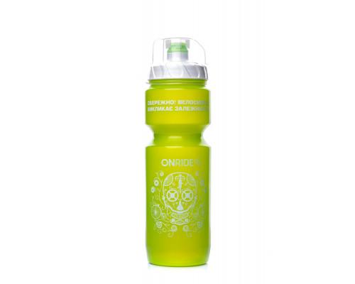 Фляга ONRIDE Sonora 800 ml зеленая с колпачком